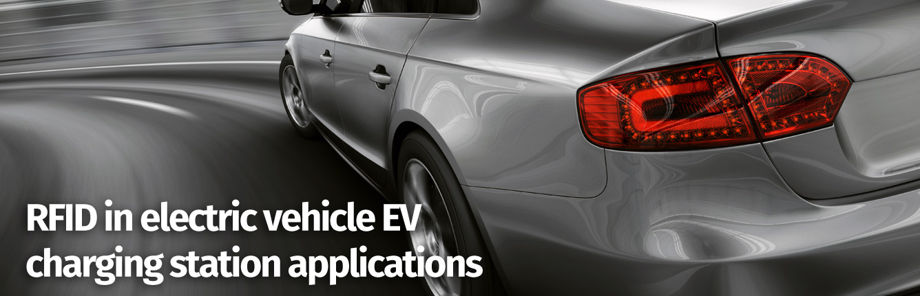 RFID in electric vehicle EV charging station applications